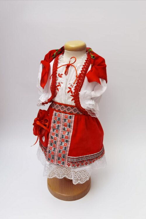 Costum national botez fata