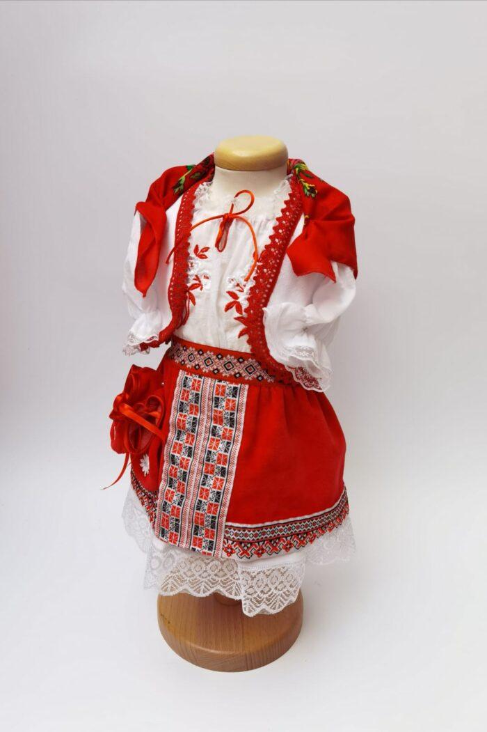 Costum national botez fata